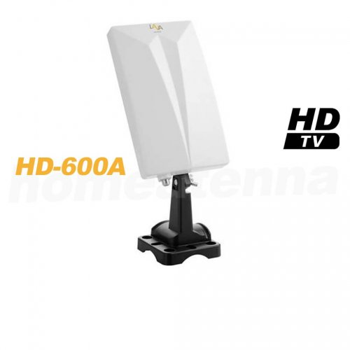 Pre-amplified TV Antenna - Indoor and Outdoor Use - LAVA HD-600A-0