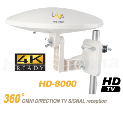 Top Rated 4K Omnidirectional TV Antenna OmniPro HD-8000-0