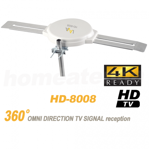 Top Rated 4K Omnidirectional TV Antenna OmniPro HD-8008-0