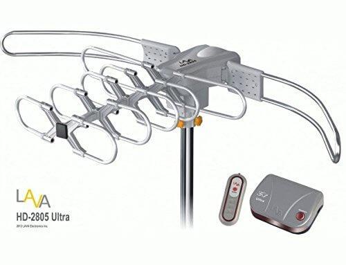 [FREE Installation Kit] 150 mile LAVA HD2605 4K HDTV Indoor/Outdoor Antenna