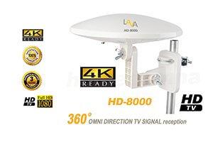 LAVA 8000 antenna